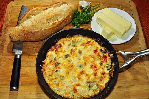 low-fat, low-carb frittata