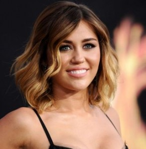 ombre hair miley cyrus