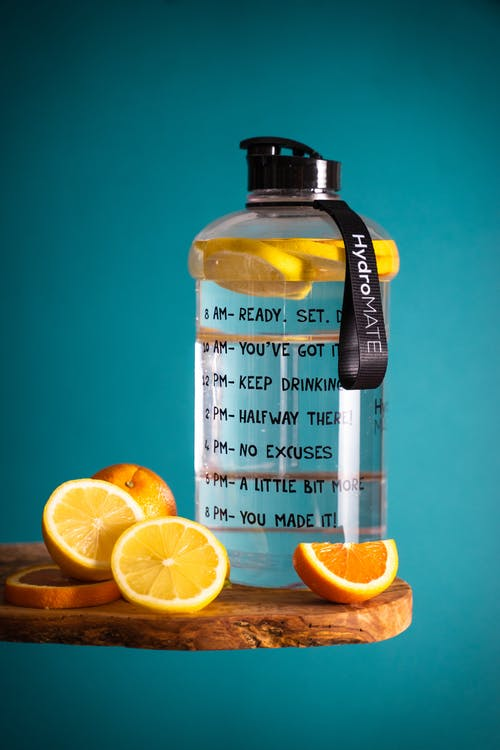 Drink lots of water to keep body hydrated and fresh.